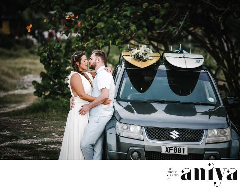 Surfer's Bay Beach Wedding - Barbados Wedding Photography