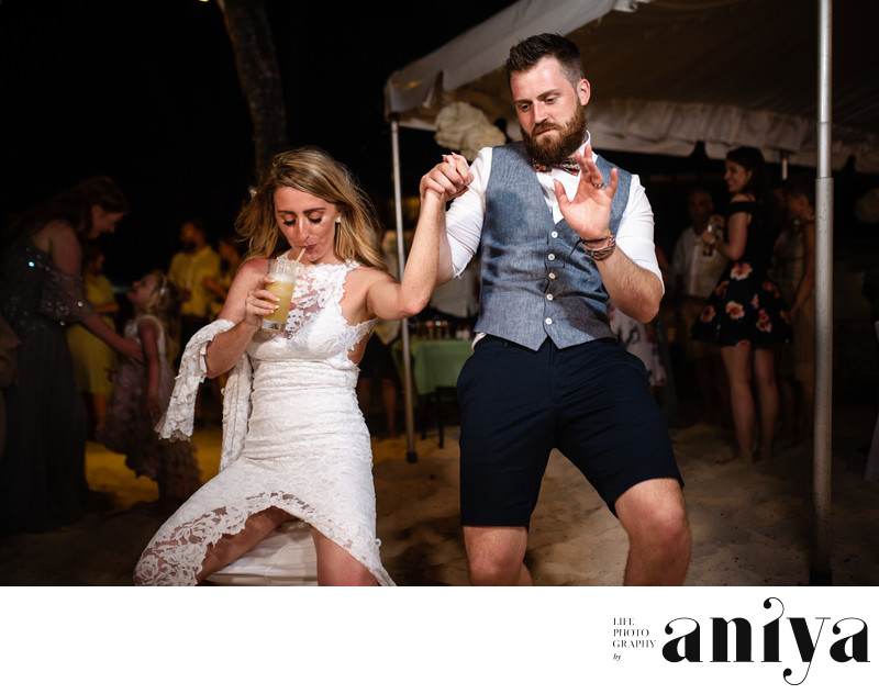 Wedding Reception at Turtle Beach Hotel - Barbados Wedding Photography