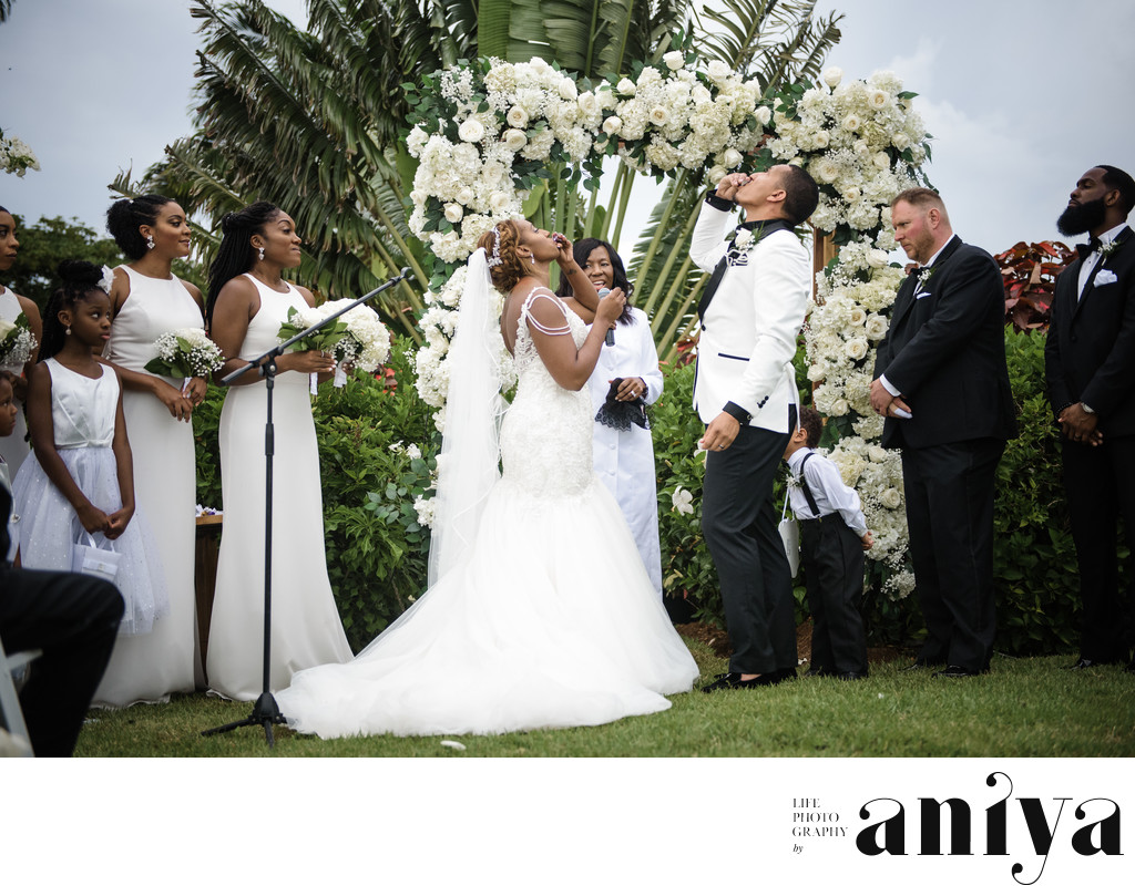 Wedding at La Maison Michelle Barbados - Barbados Wedding Photography