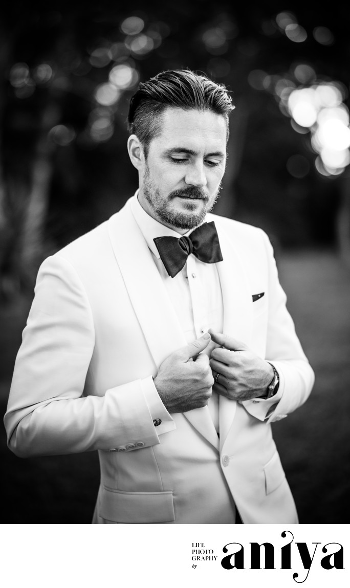 Groom at Bellevue Plantation Barbados Wedding - Barbados Wedding Photographer
