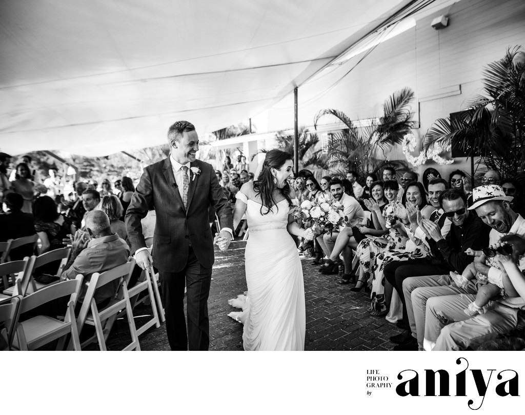 Fun Wedding Photos at Champers in Barbados