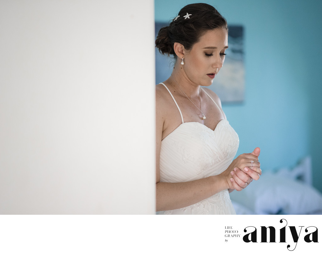Getting Ready Wedding Photography in Barbados