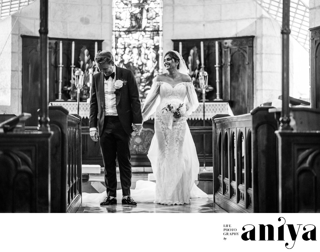 Best Wedding Photographs at St. James Parish Church in Barbados