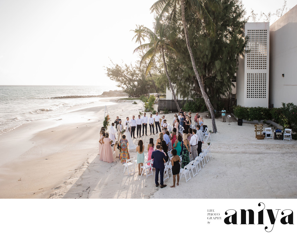 Sea Breeze Beach House Barbados Wedding Photos