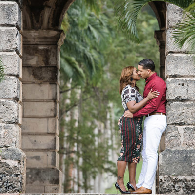 Codrington College Engagement Photographer - Barbados Wedding Photography