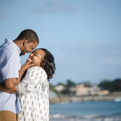 Butterfly Beach Hotel Engagement Photos - Barbados Wedding Photography