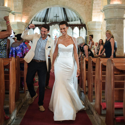 St. James Parish Church Wedding - Barbados Wedding Photography