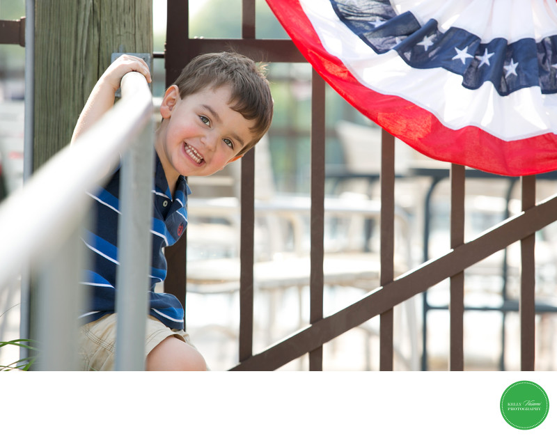 Patriotic Themed Child Photography session