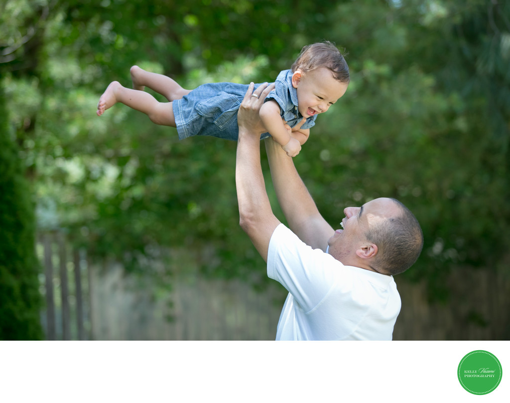 Son and Dad Photos • New Rochelle White Plains