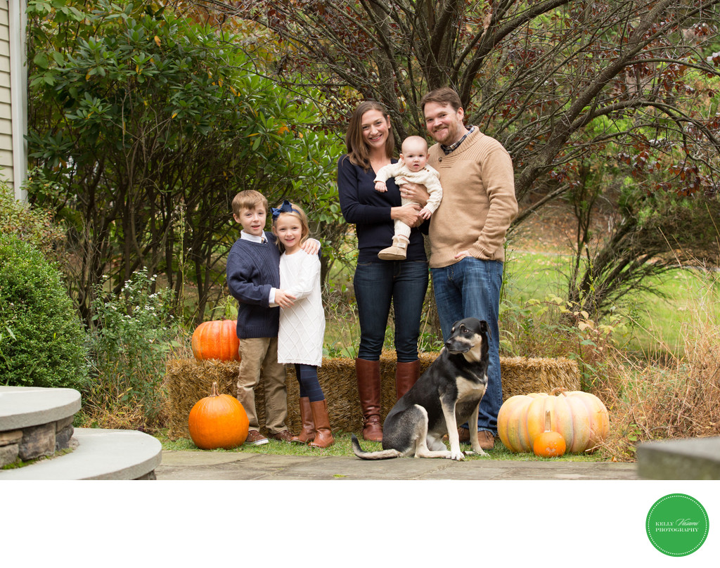 Westchester Family Photos in Autumn