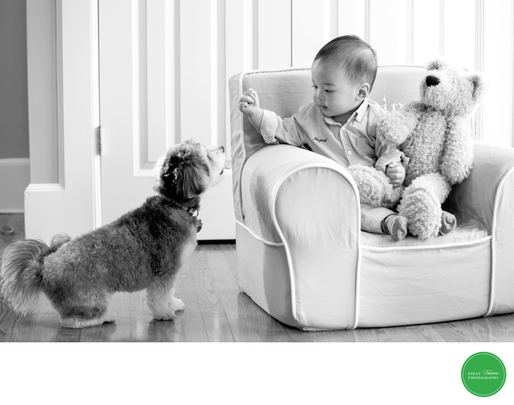 Lifestyle Children's Photographer in Rye Larchmont