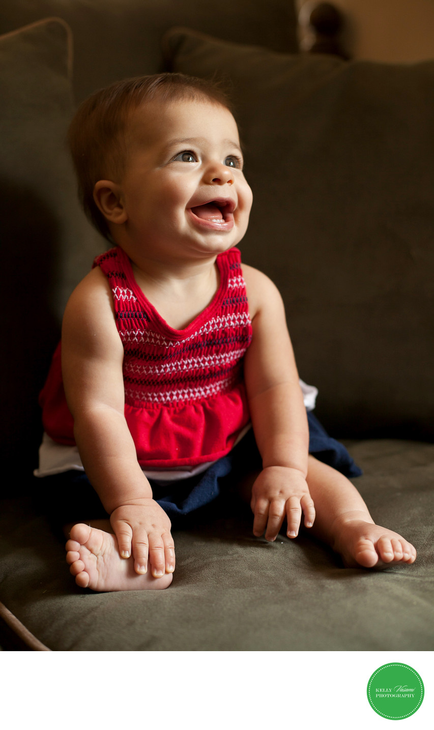 Laughing Baby Photo Westchester