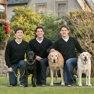 Larchmont Family Christmas Card Photo