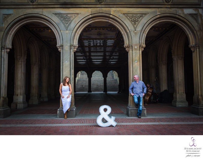 Bethesda Fountain Wedding Photographer