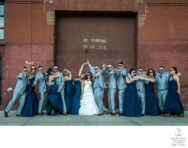 Dumbo Bridal Party Wedding Photos