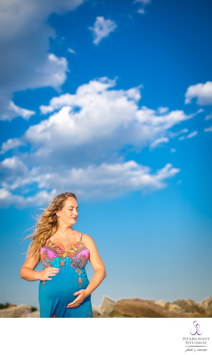 Jones Beach Maternity Photos