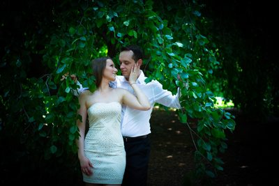 Brooklyn Botanical Gardens Engagement Photos
