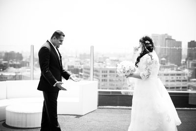 Z Hotel Rooftop Wedding Photos