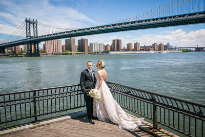Manhattan Bridge Wedding Photos