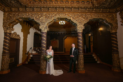 St. George's Theater Wedding Photos