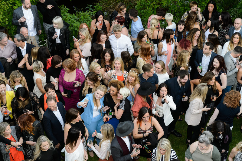 Haringtons Hairdressing Summer Party Group Photo