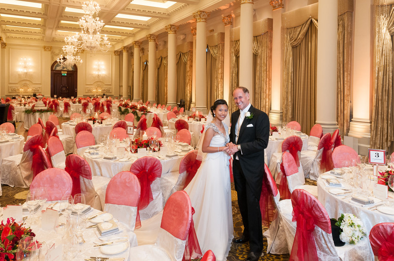 Wedding Photographer at The Langham London