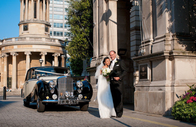 The Langham Wedding Photography London