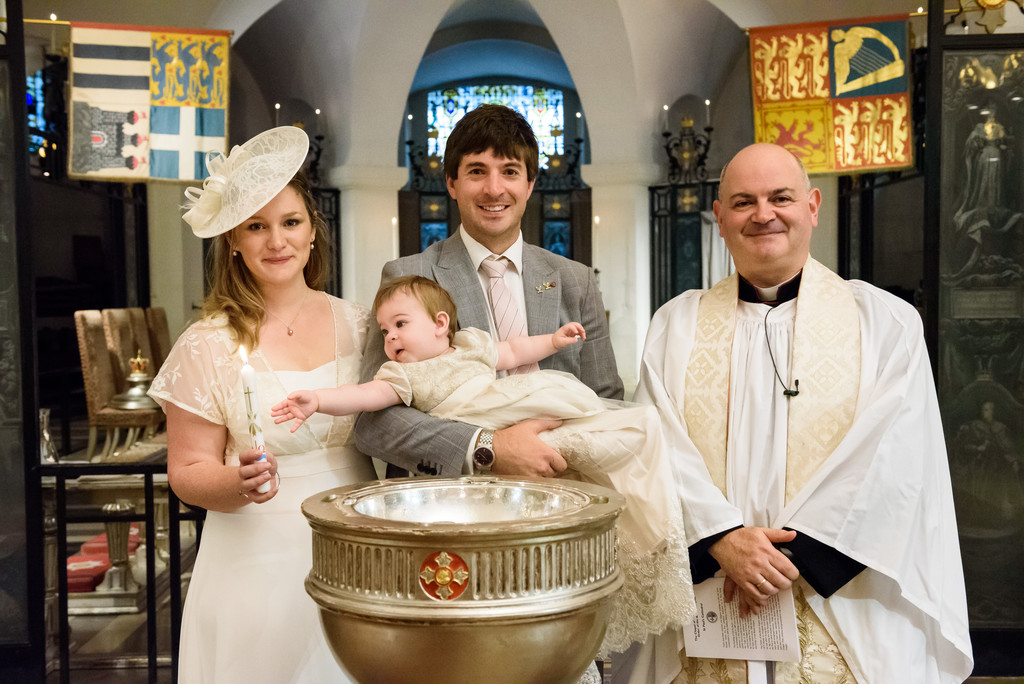St Paul's Cathedral Christening