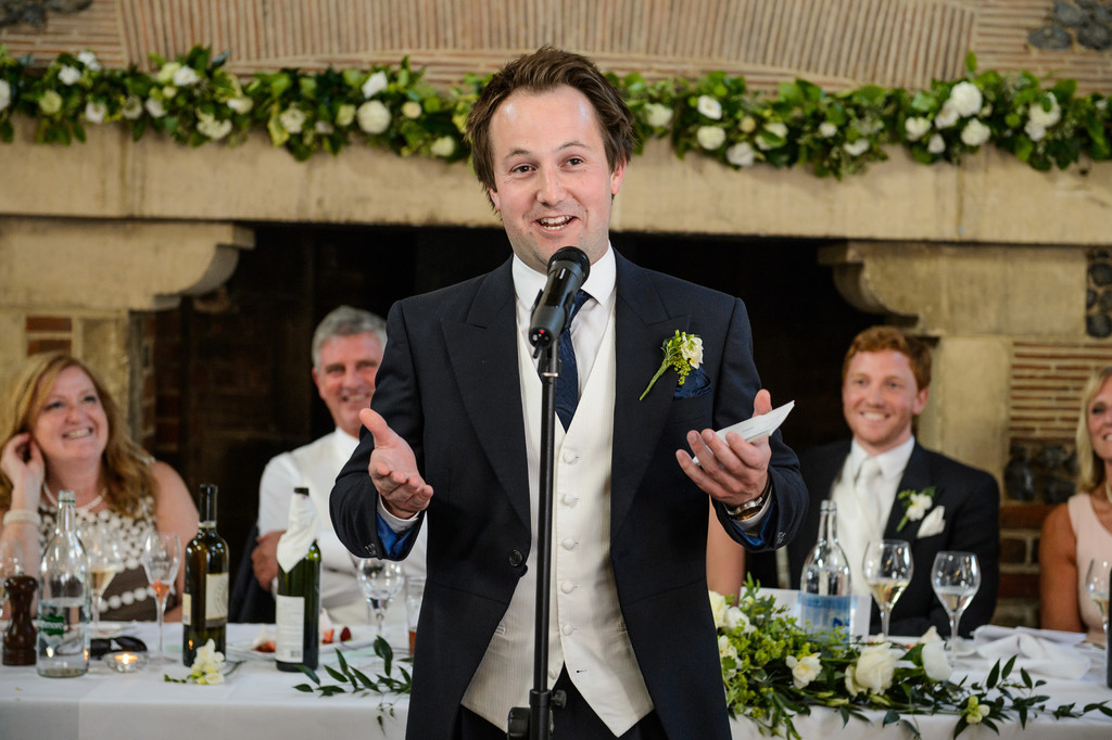 The Best Man Wedding Speech