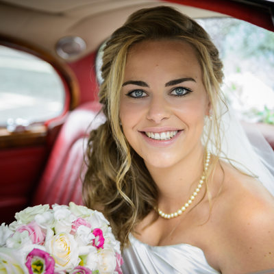 Bride at Hall Place Maidenhead