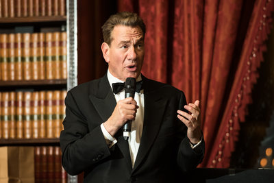 Michael Portillo, after dinner speaker