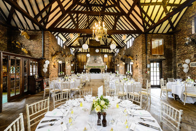 Wedding Dining Room at Denham Golf Club