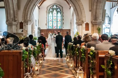 Cookham Church Wedding Ceremony