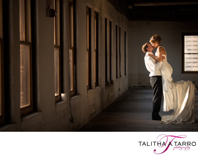 Best wedding photos at downtown banque lofts