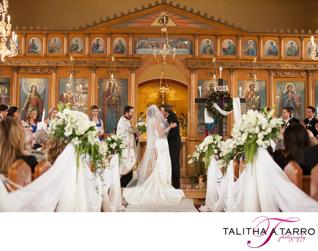 Greek Orthodox Wedding in Albuquerque