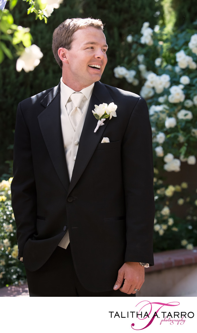 Groom at Botanic Garden