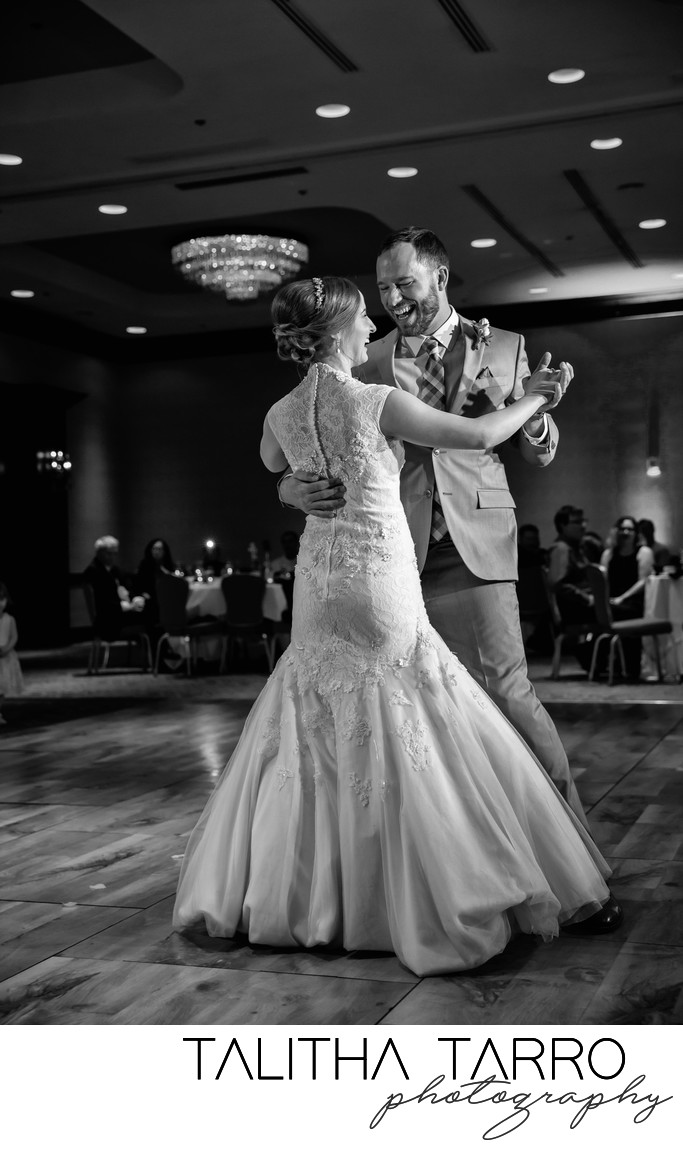 Crowne Plaza Albuquerque Wedding Reception