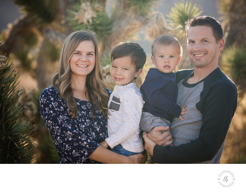 Las Vegas Family Photographer Family of 4