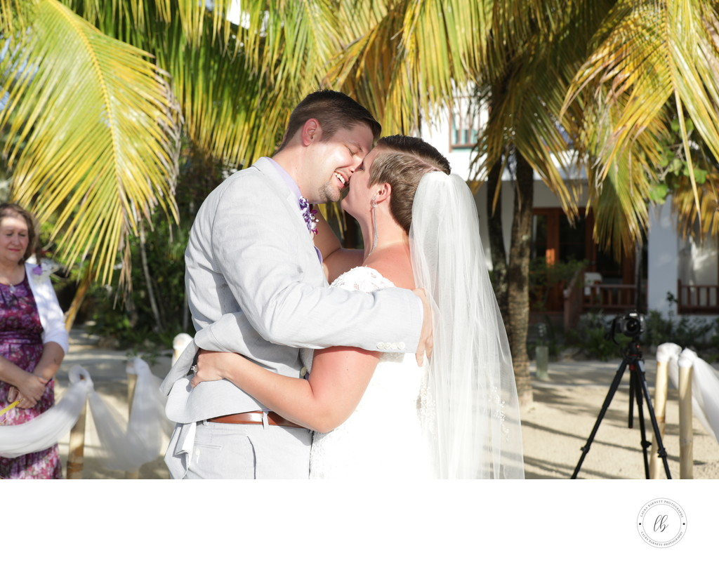 Wedding on the Jamacia beach