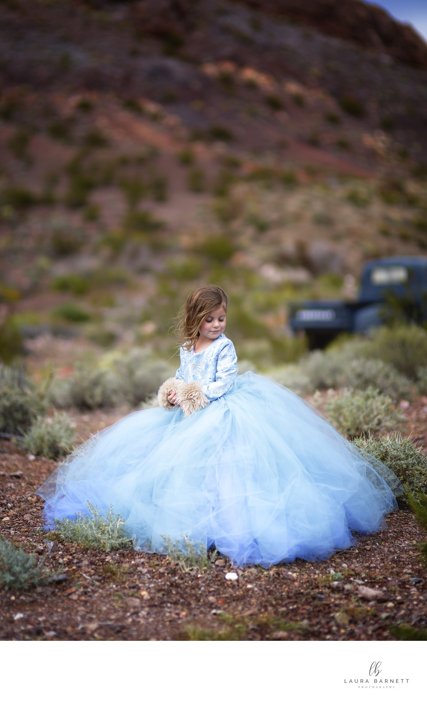 Las Vegas family photographer children couture