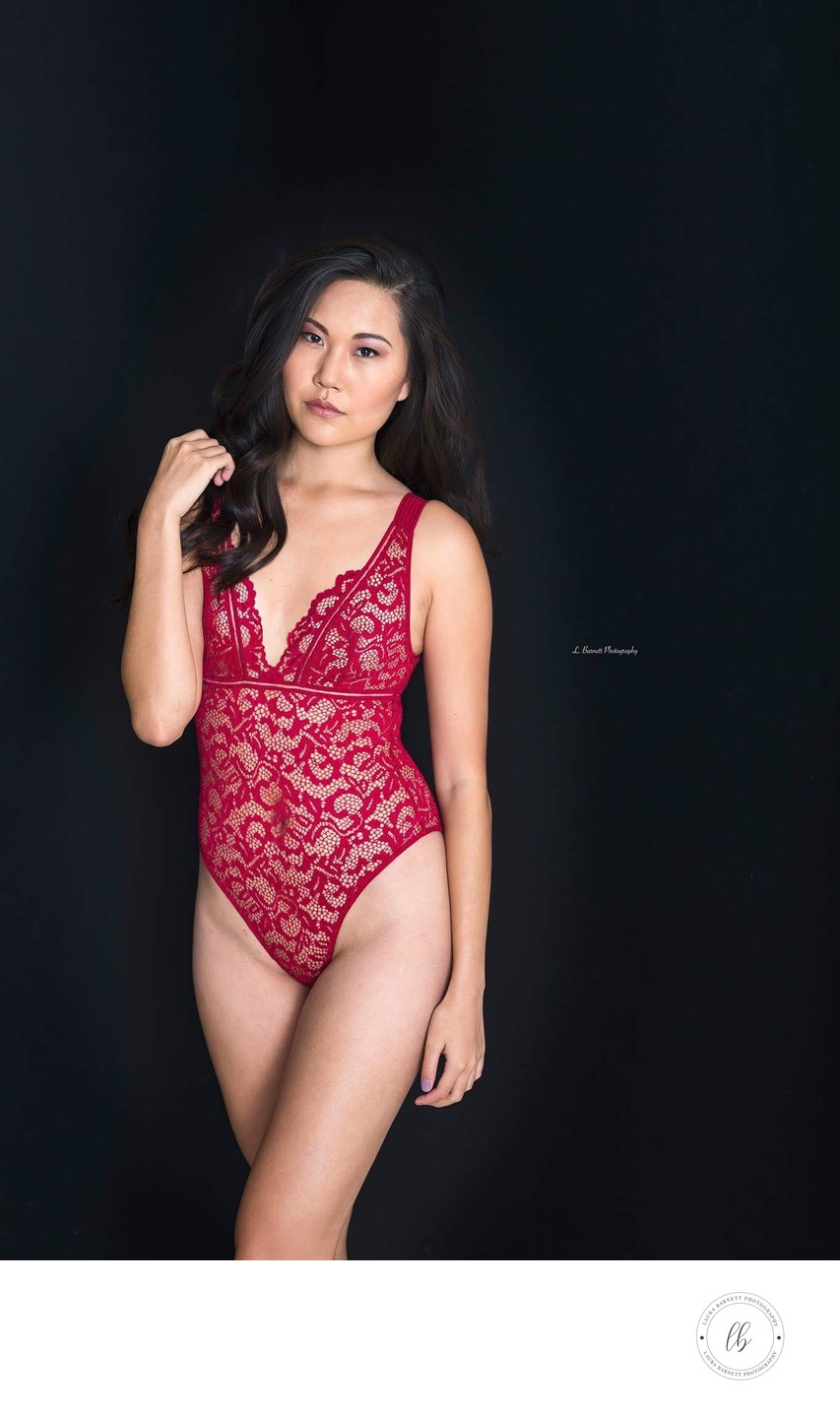 Las Vegas Photographer portrait Asian boudoir