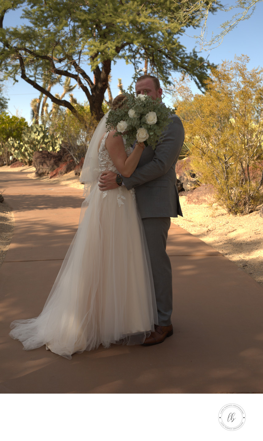 Las Vegas Wedding Photographer - formal bride and groom