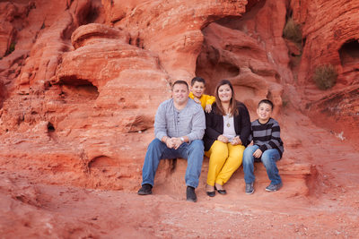 Las Vegas Family Photographer Valley of Fire