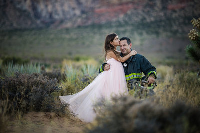 Las Vegas Family Photographer Fireman