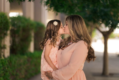 Las Vegas Family Photographer Mommy and Me Smith Center