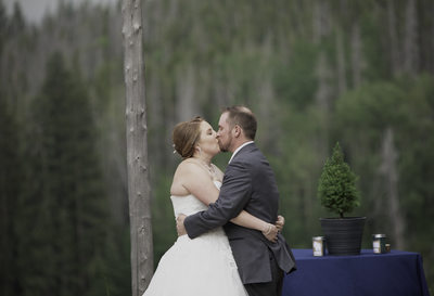Weddings- Bride and Groom Kiss
