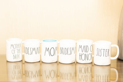 Las Vegas Wedding Photographer-details coffee cups