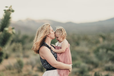 Las Vegas Family Photographer Mommy and daughter