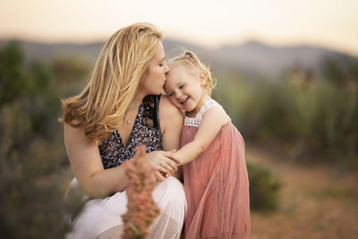 Las Vegas Family Photographer Mom and daughter