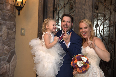 Las Vegas Wedding Photography family photo of four